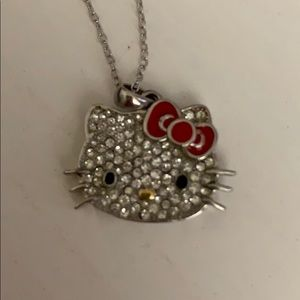 New Hello Kitty sterling silver necklace
